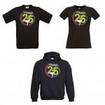 T-Shirts und Hoodie 25-Jahre Starfighters