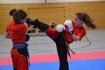 Partnerübung: Round-House-Kick
