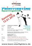 Ausschreibung - PF Sparringstreff Mallersdorf 12. Januar 2019