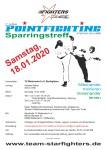 Ausschreibung - PF Sparringstreff Mallersdorf 18. Januar 2020